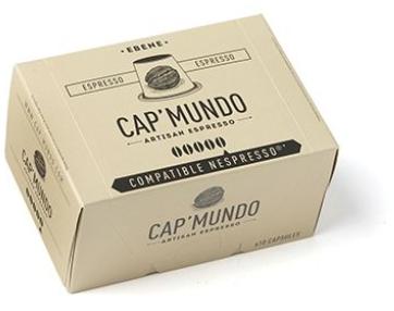 Capsules Café Capmundo Ebène (Compatible Nespresso) - HistoireDeGout.com