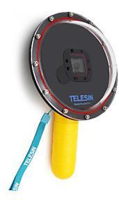 """Dôme Telesin 6"""" pour caméra Go pro"""