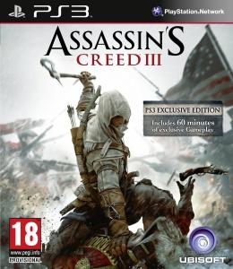 Assassin's Creed 3 sur PS3/Xbox 360 (Jeu seulement en anglais)