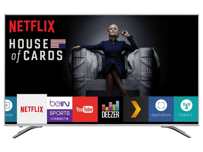 """[Carte Confo+] TV LED 50"""" Hisense 50A6500 - UHD 4K, HDR, Smart TV (Via 17.99€ sur la Carte) ou la 55A6500 à 349.10€ (Via ODR de 100€)"""