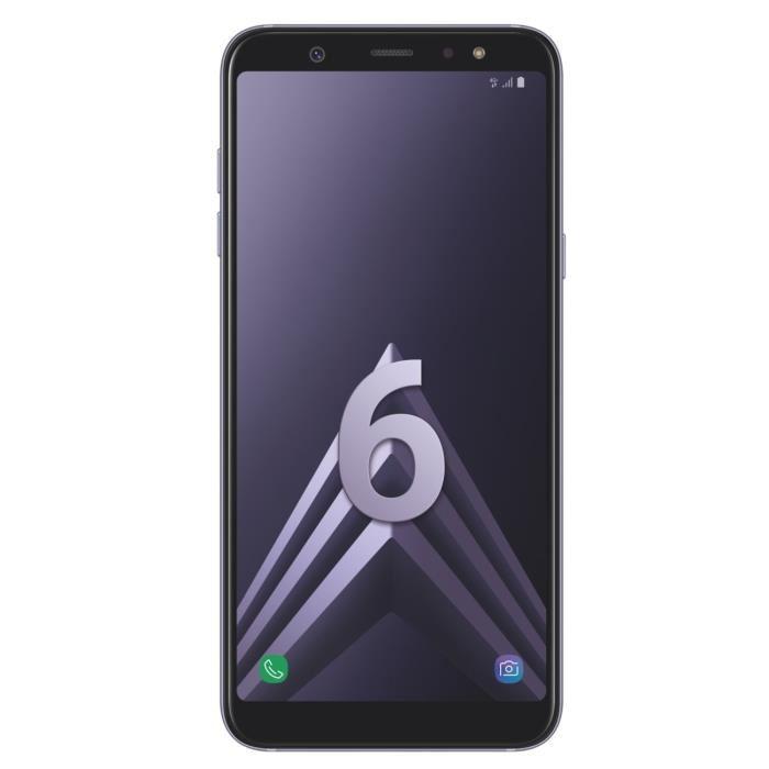 """[Cdiscount à volonté] Smartphone 5.6"""" Samsung Galaxy A6 2018 - HD+, 3 Go RAM, 32 Go ROM, Coloris au choix (via ODR 50€)"""