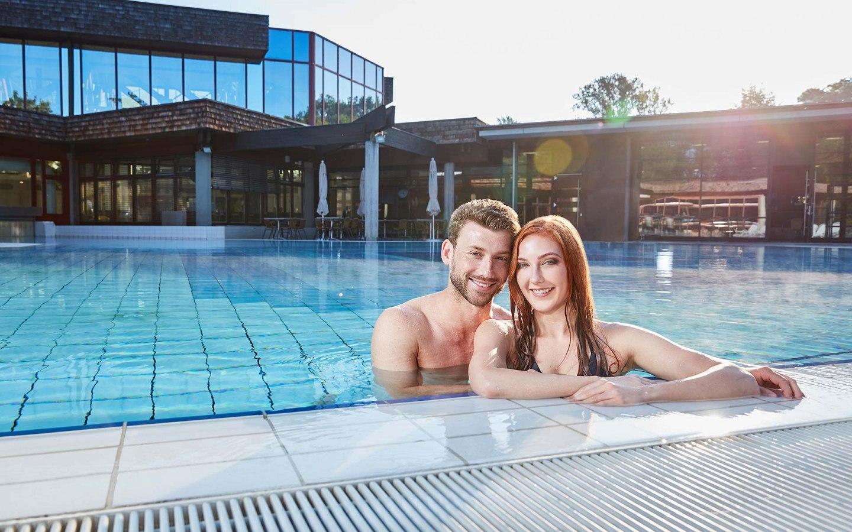 Promotions sur les billets pour Balinea Thermen - Ex : Entrée 1 journée pour le bain thermal + accès au parc de sauna