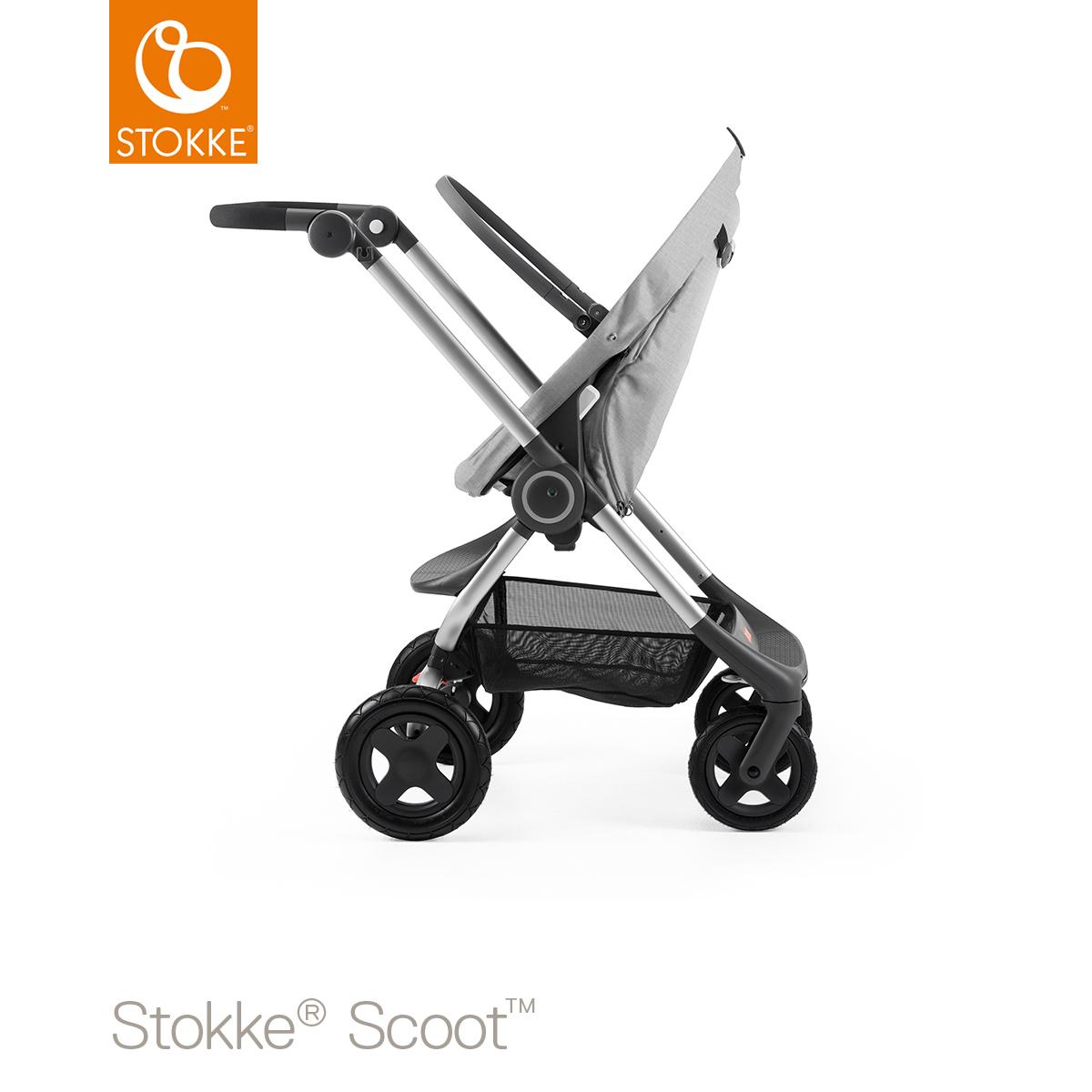 [Carte Privilège] Poussette compacte Stokke Scoot - gris