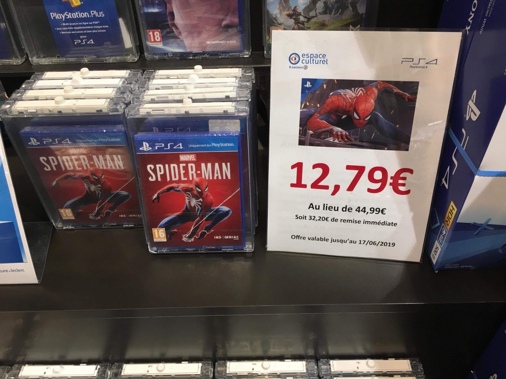 Marvel's Spider-Man sur PS4 - Marseille Sormiou (13009)
