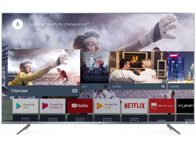 """[Carte Confo +] TV 65"""" TCL 65DP660 (4K UHD, LED, Smart TV) + Porte rouleau essuie tout (via ODR de 150€)"""