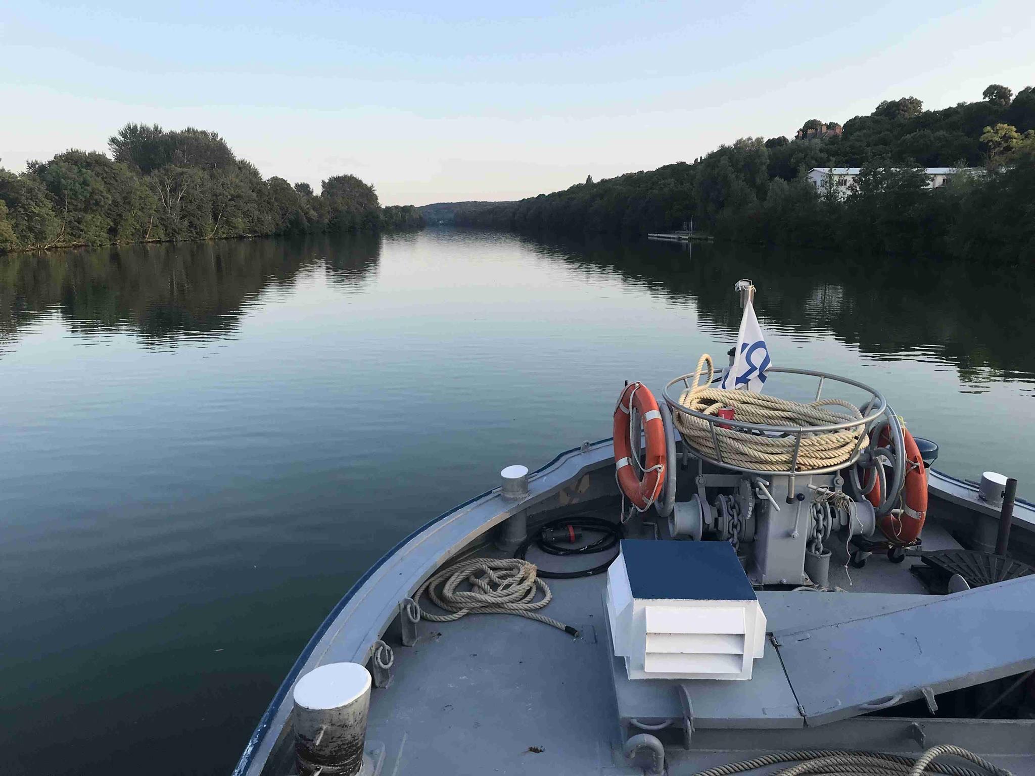Sélection de croisières sur La Seine au départ de Melun - Ex : 3 heures, avec passage d'une écluse - Office de Tourisme de Melun (77)