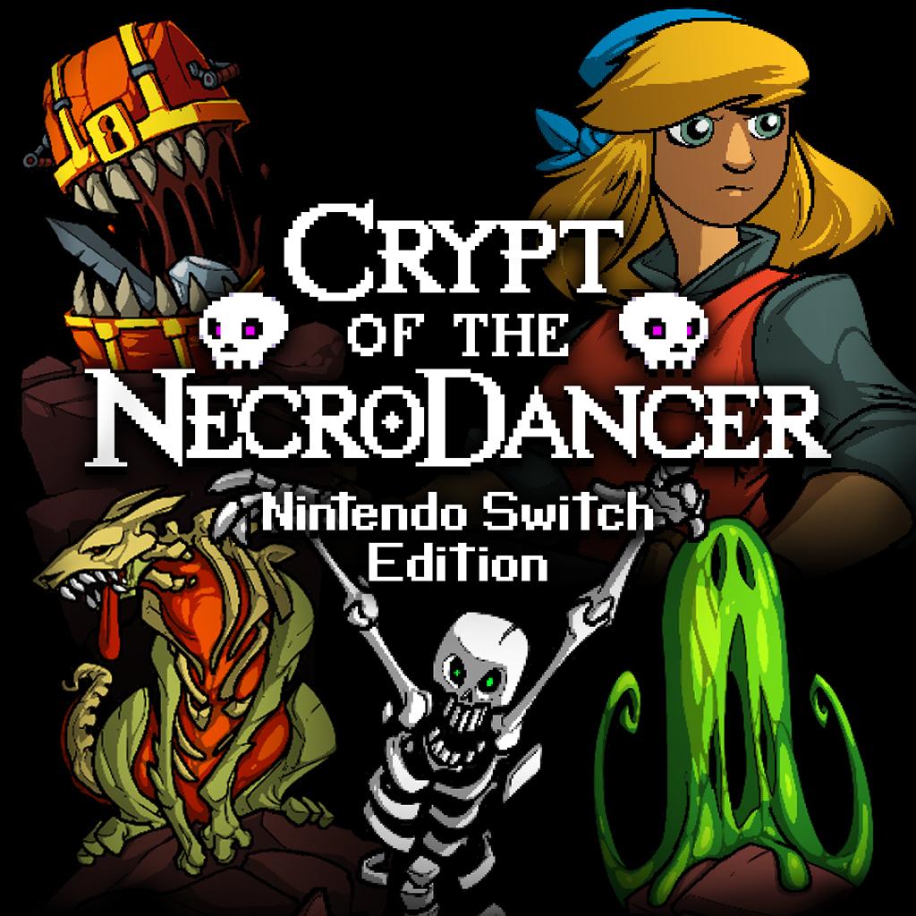 Sélection de jeux vidéo sur Switch en promotion (dématérialisés) - Ex : Crypt of the NecroDancer