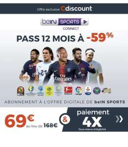 Pass Bein Sports Connect - 12 mois