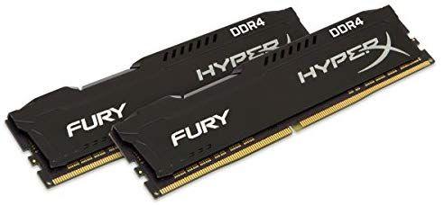 Kit mémoire Ram DDR4 HyperX Fury 16 Go (2x8Go) - 3200MHz