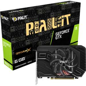 Carte graphique Palit GeForce GTX 1660 Ti stormX, 6 Go + Bundle Fortnite offert