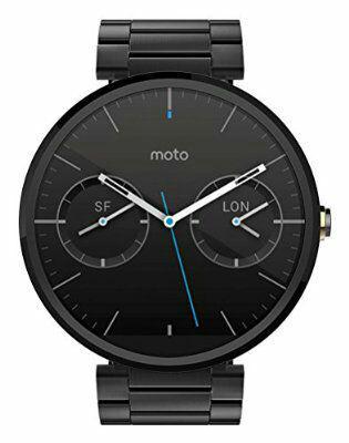 Montre connectée Motorola Moto 360 - Métal Noir