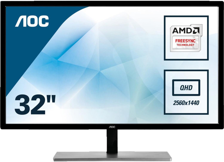 "Écran PC 31.5"" AOC Q3279VWF - QHD, 2560x1440, LED MVA, 5 ms"