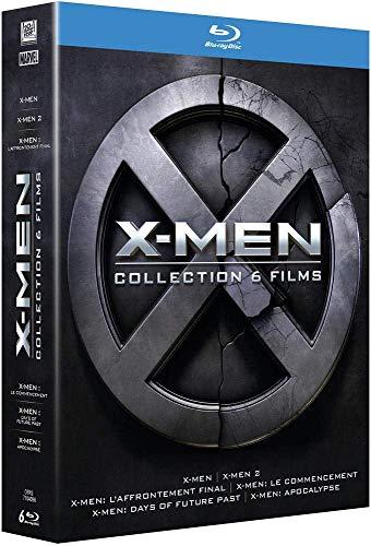 Coffret Blu-ray X-Men - L'intégrale : La Prélogie + La Trilogie