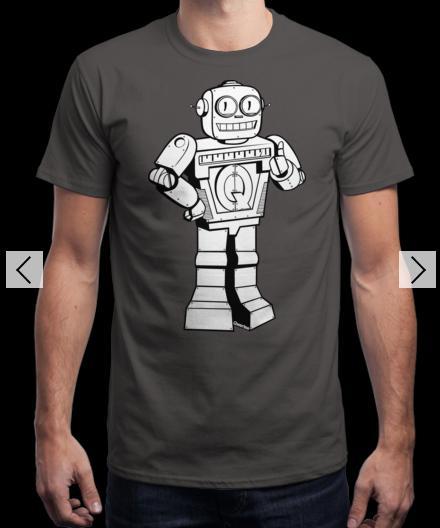 T-shirt Qwertee Bot