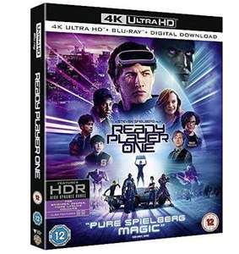 Sélection de Blu-ray 4K UHD en promotion - Ex : Ready Player One