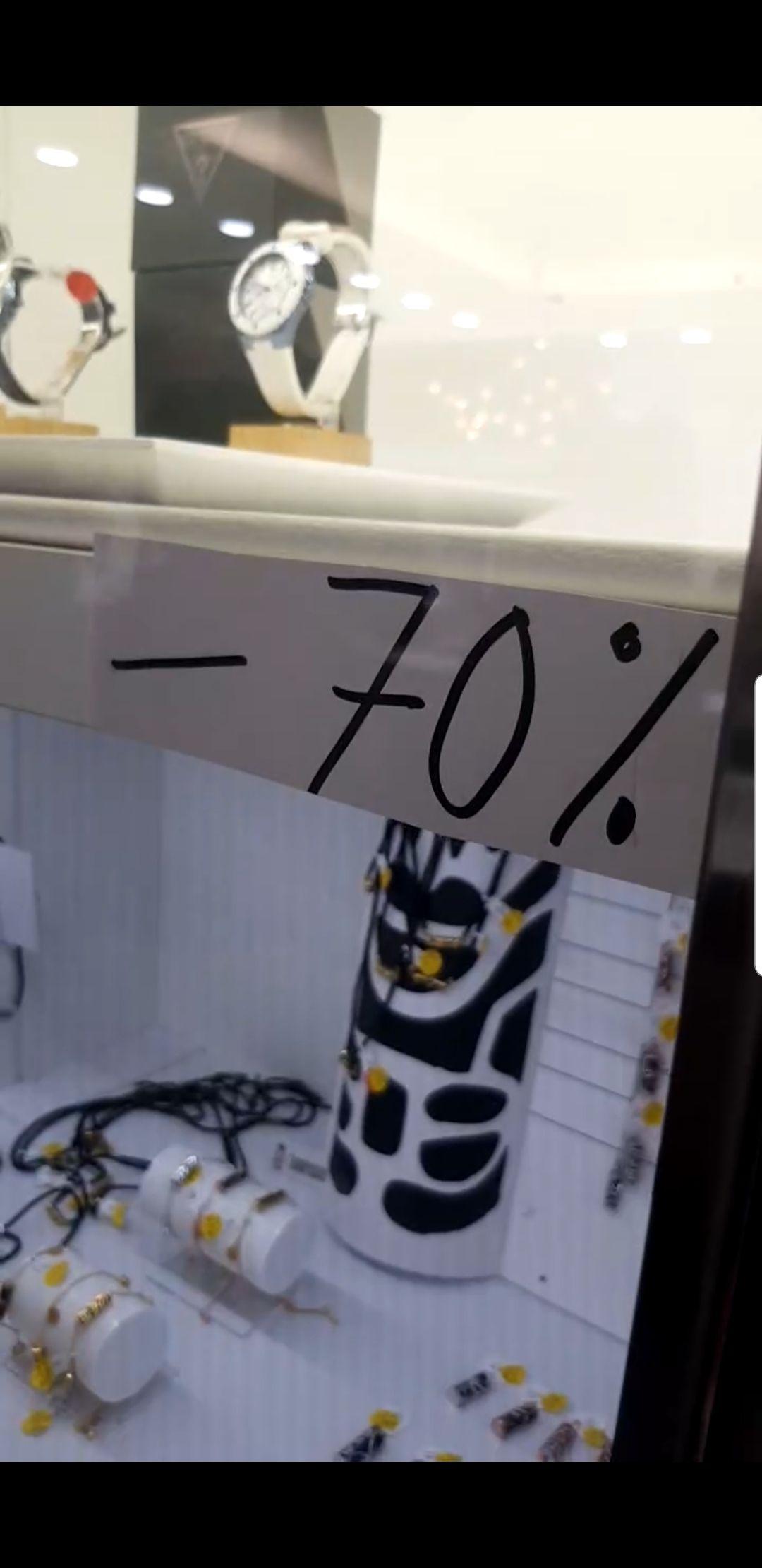 70% de réduction sur une sélection d'articles - Bijouterie Briant - Echirolles (38)