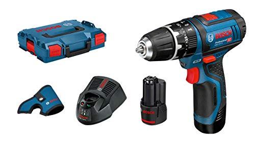 Coffret perceuse-visseuse sans-fil Bosch GSB Professional Swing-Li (12 V) - avec chargeur + 2 batteries (2.0 Ah)