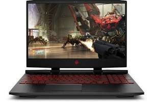 "PC portable 15.6"" full HD HP Omen 15-dc0048nf - i5-8300H, GTX-1050, 8 GO de RAM, 1 To + 16 Go en Optane, Windows 10 (via ODR de 50€)"