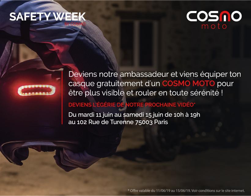 Cosmo Connected moto gratuit - Cosmo Connected Paris (75)