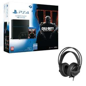 Pack PS4 1To + Call Of Duty Black Ops III + Casque SteelSeries Siberia P300