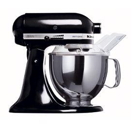 Kitchenaid Artisan 5KSM150PSEOB - Robot ménager - 300 W - noir onyx