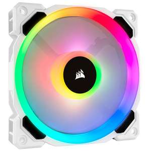 Ventilateur PC Corsair LL120 RGB - 120MM PWM Blanc