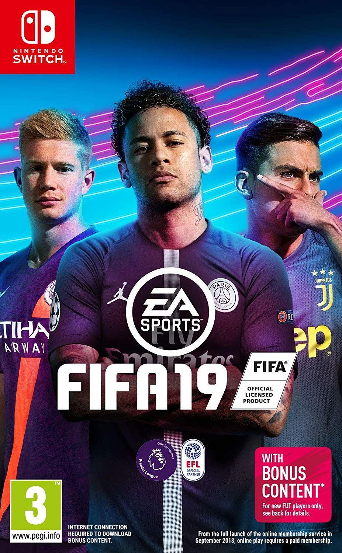 Jeu Fifa 19 sur NIntendo Switch (Dématérialisé, Store US)