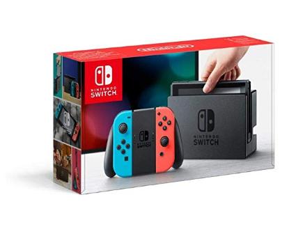 Console Nintendo Switch Bleu / Rouge Néon
