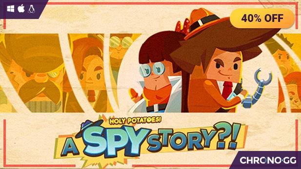 Holy Potatoes! A Spy Story?! sur PC (Dématérialisé - Steam)