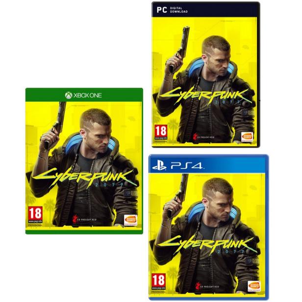 [Précommande] Cyberpunk 2077 Edition Day One à 46,03€ sur PC & 51,65€ sur PS4 ou Xbox One