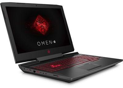 """PC portable 17"""" HP Omen 17-an112nf (i7-8750H, GTX-1070, 16 Go de RAM, 1 To + 256 Go en SSD) + souris Omen 600 (via ODR de 120€)"""