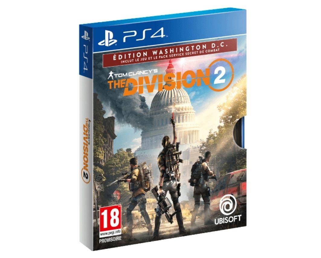 Tom Clancy's The Division 2 Édition Washington, D.C. FR/NL sur PS4 (Frontaliers Belgique)