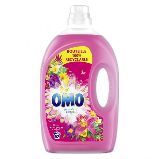 Bidon de lessive liquide Omo - différentes variétés, 2.6 L (via 7.19€ en bon d'achat + BDR)