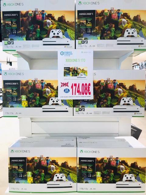 Console Microsoft Xbox One S (1 To) + Minecraft - Bellerive-sur-Allier (03)