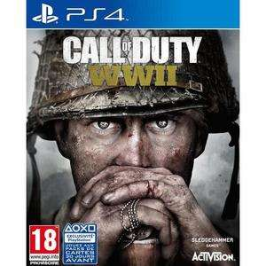 Call of Duty: WWII sur PS4 (vendeur tiers)
