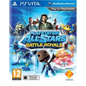PlayStation All-Stars Battle Royale PS Vita