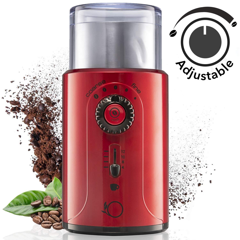 Moulin à café électrique réglable - 200W (vendeur tiers)