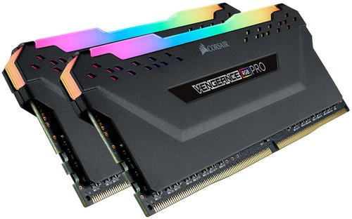Kit de RAM Corsair Vengeance RGB Pro DDR4-3200 C16 - 32 Go (2x16), noir