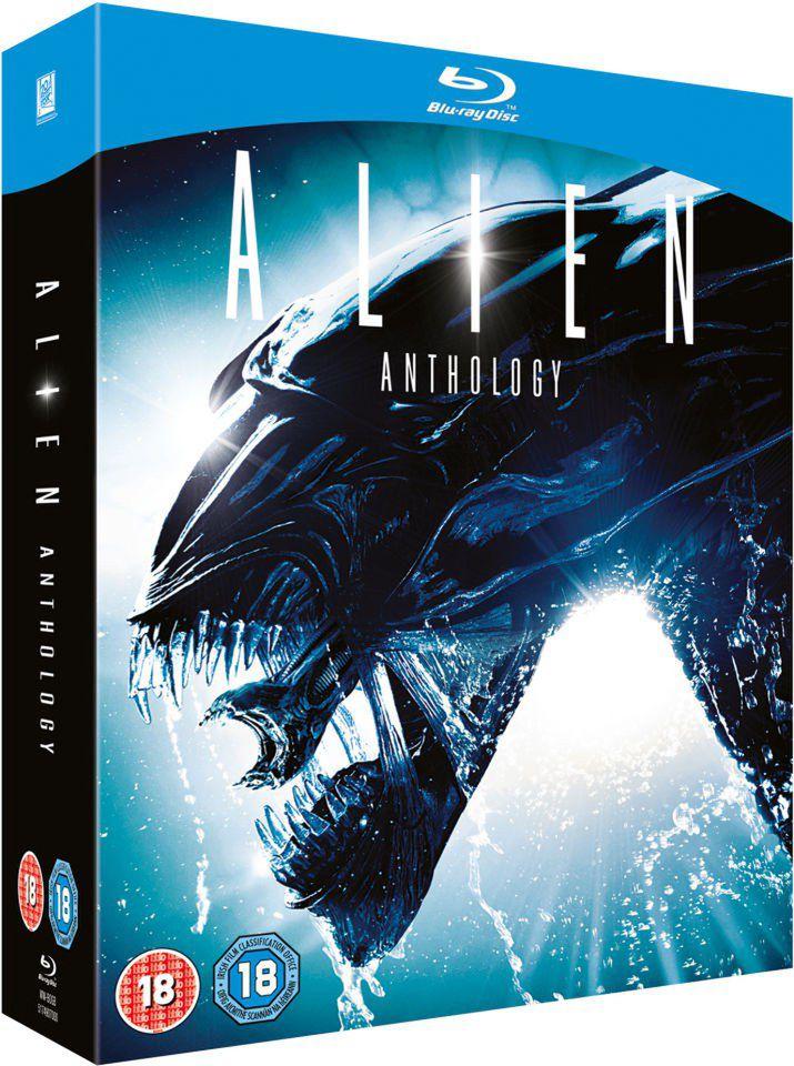 Coffret Blu-ray Alien Anthology - 4 disques