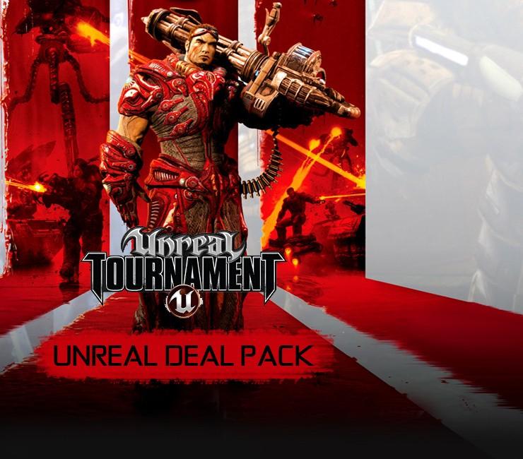 Bundle Unreal Deal Pack - Unreal 1 & 2 + Unreal Tournament + Unreal Tournament 2004 + Unreal Tournament 3 sur PC (dématérialisés, Steam)