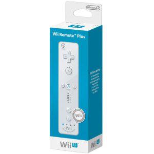 Télécommande Nintendo Wiimote Plus pour Wii/Wii U - Blanche