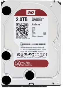 """Disque dur interne 3.5"""" WD Red WD20EFRX - 2 To (Reconditionné)"""