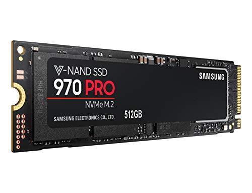 SSD Interne NVMe M.2 Samsung 970 Pro - 512 Go