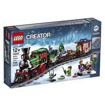 Jeu de Construction Lego Creator 10254 - Le train de Noël