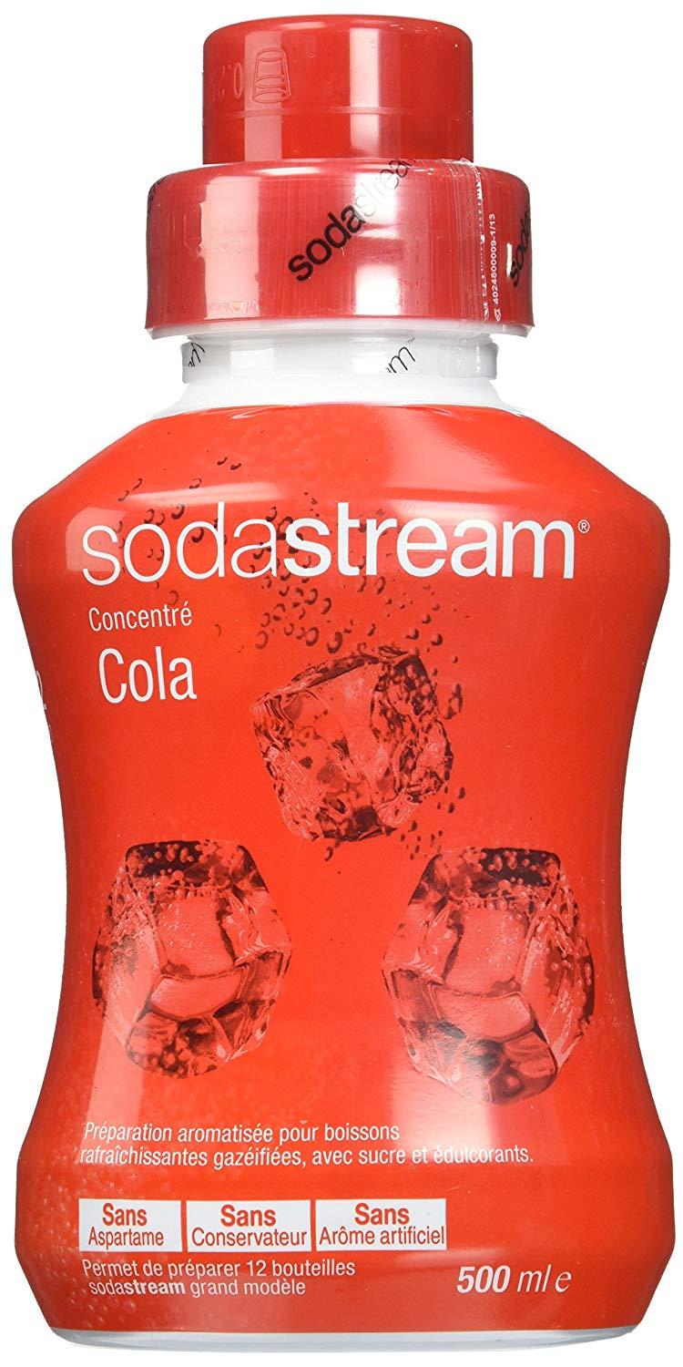 Lot de 3 sirops concentrés cola SodaStream - 3x500ml