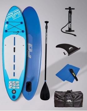 Paddle Gonflable Aquamarina avec Accessoires & Sac de Transport (Via 30 € sur Carte de Fidélité)