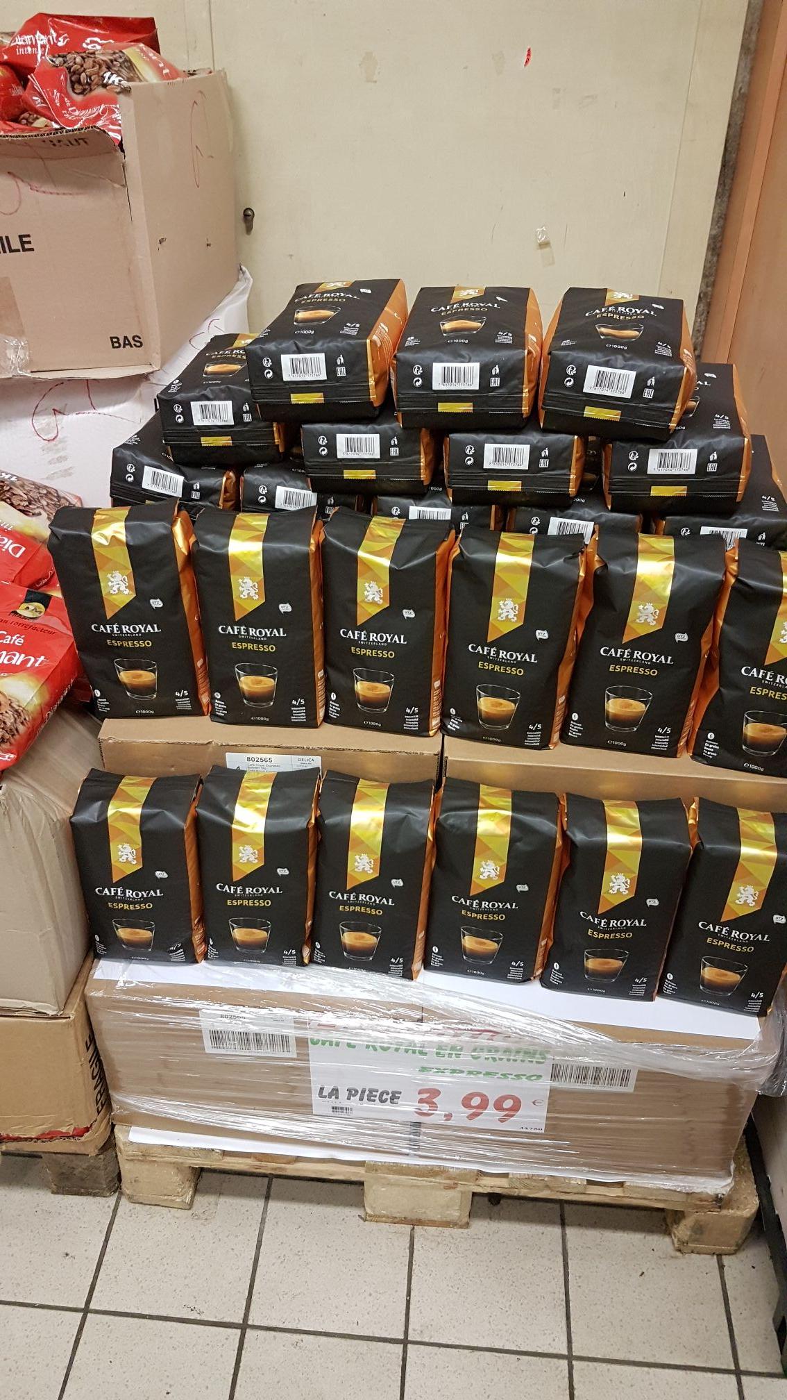Paquet de café en grains Cafe Royal Espresso 1kg - Espace Primeur Epinay-sur-seine (93)
