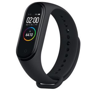 Bracelet connecté Xiaomi Mi Band 4 - Bluetooth 5.0, noir, Version Globale