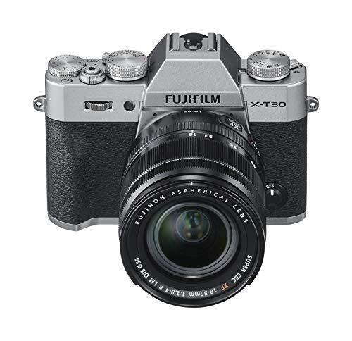 Kit Appareil photo Hybride Fujifilm X-T30 + Objectif XF18-55mm - Gris