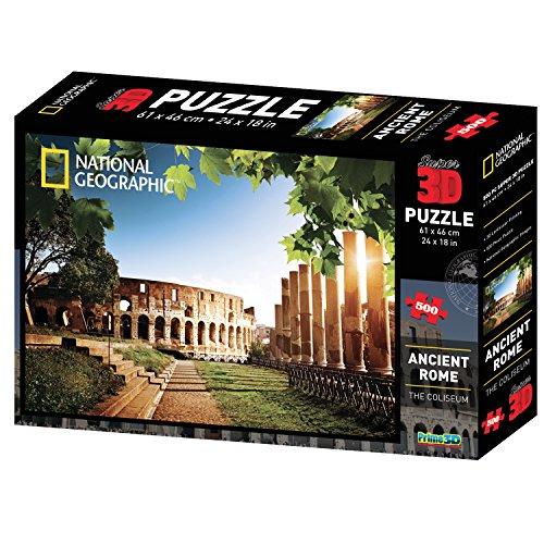 Puzzle 3D National Geographic Rome Antique Colisée de Rome - 500 pièces